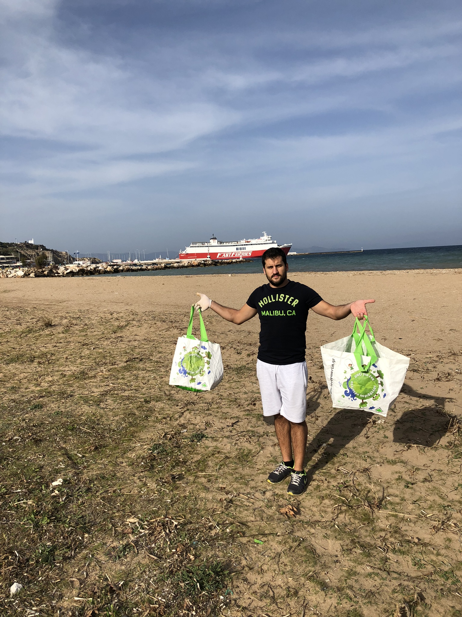 Rafina Beach Clean-up 2 November 2018