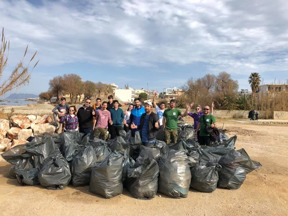 Beach Clean Up, Kladissos Chania, 26 January 2020