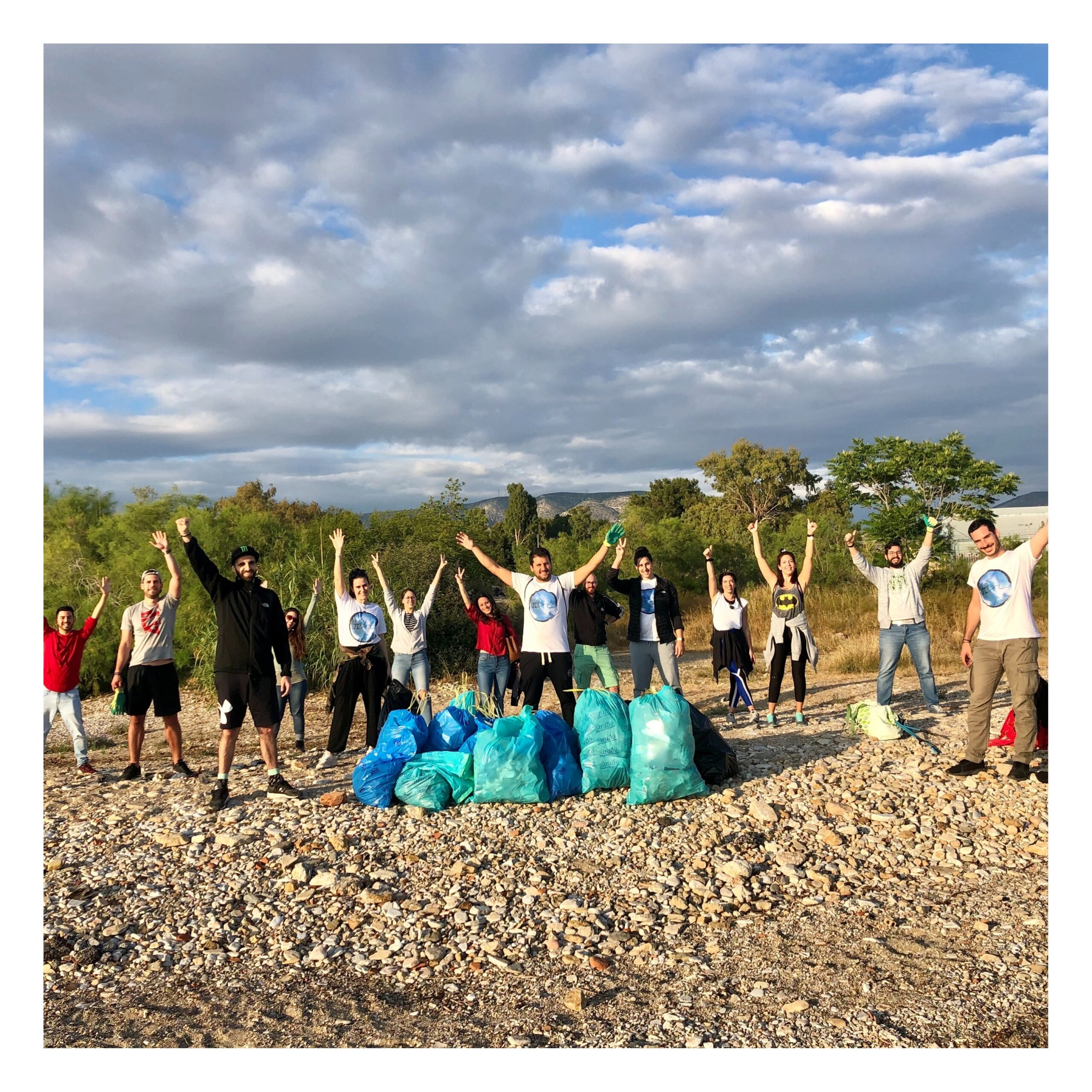 Beach Clean-up, Alimos 31 May 2020